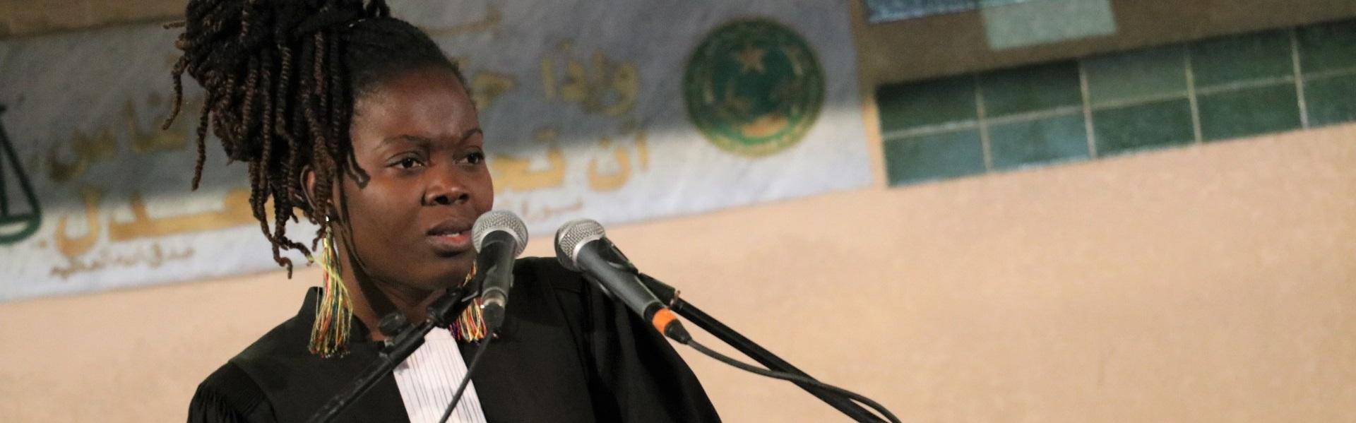 Concours international de plaidoiries pour les droits de l'Homme de Mauritanie 1